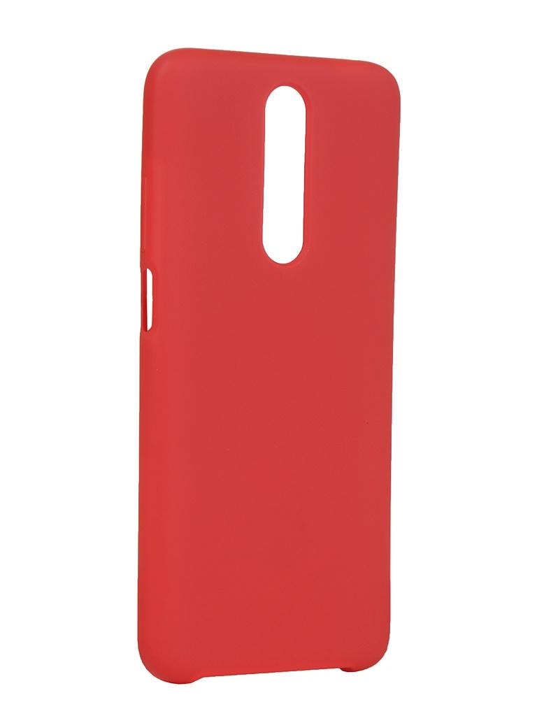 Чехол Innovation для Xiaomi Redmi K30 Silicone Cover Red 16854