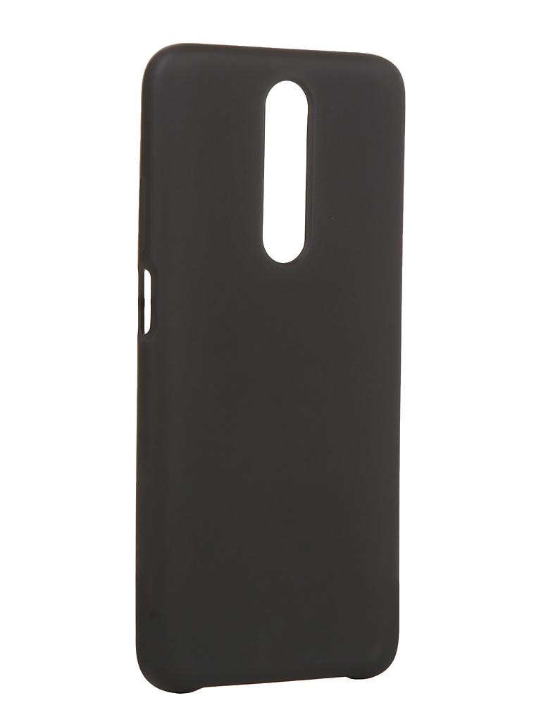 Чехол Innovation для Xiaomi Redmi K30 Silicone Cover Black 16855