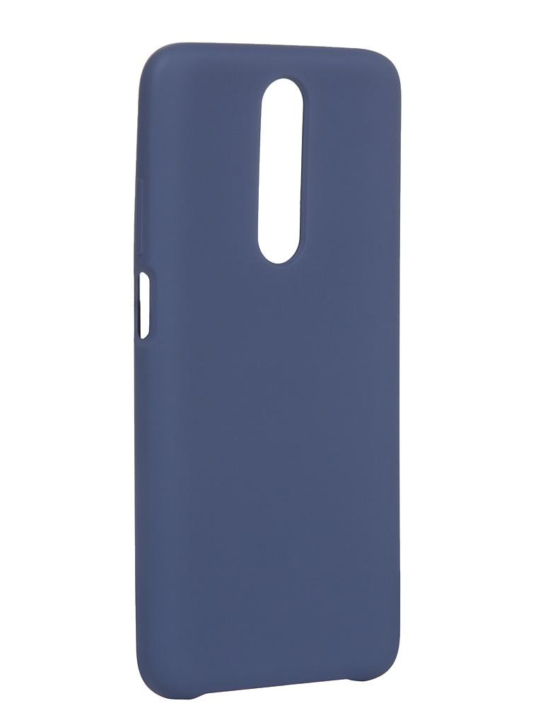 Чехол Innovation для Xiaomi Redmi K30 Silicone Cover Blue 16857