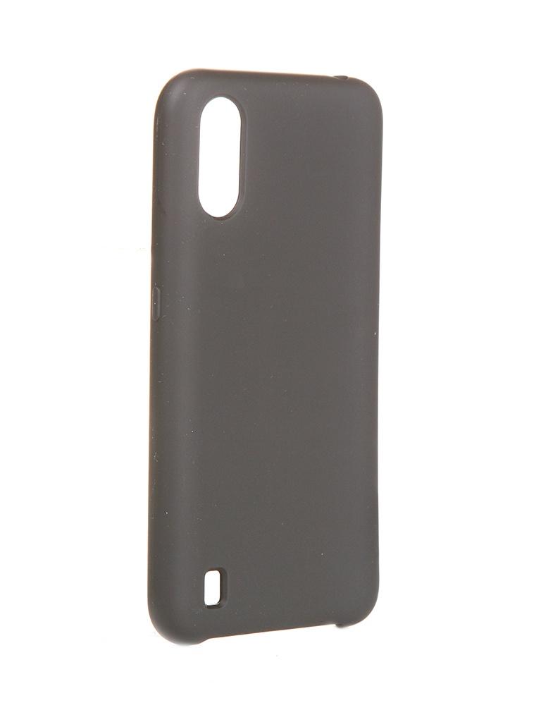 Чехол Innovation для Samsung Galaxy A01 Silicone Cover Black 16836