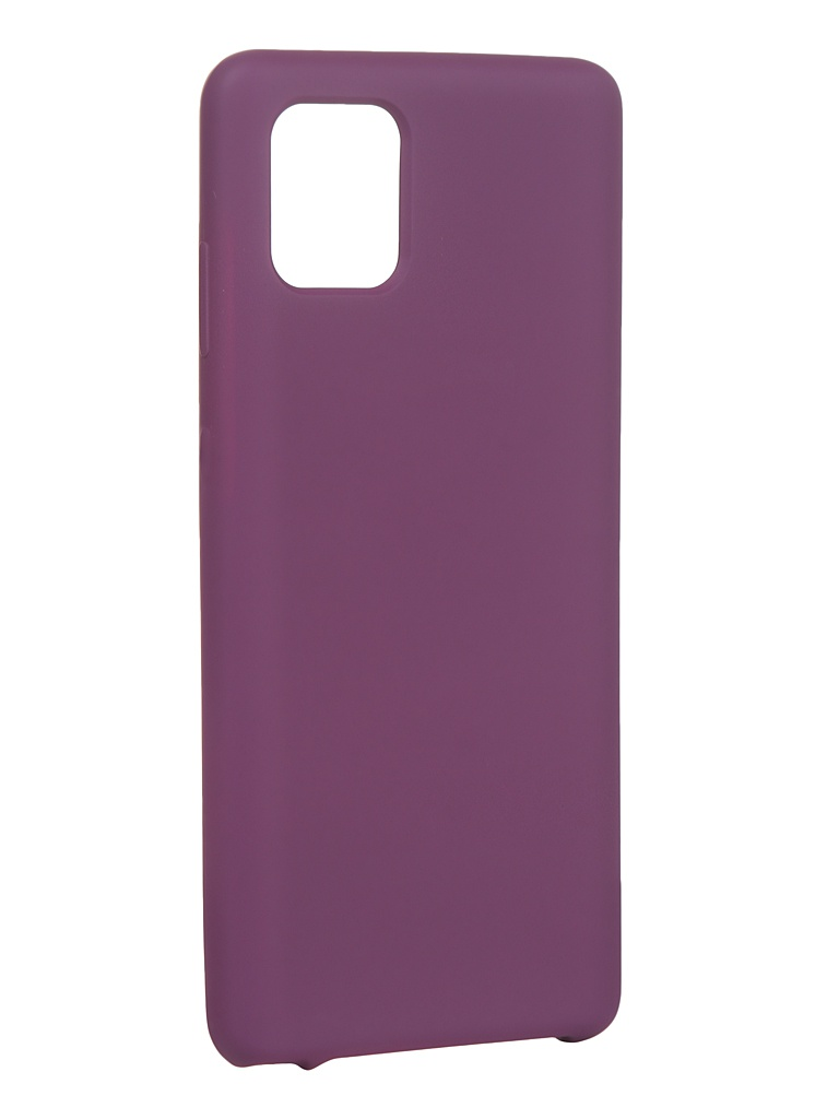 Чехол Innovation для Samsung Galaxy Note 10 Lite/A81/M60S Silicone Cover Purple 16850