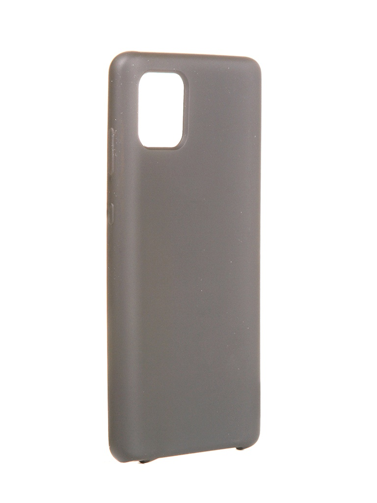 Чехол Innovation для Samsung Galaxy Note 10 Lite/A81/M60S Silicone Cover Black 16851