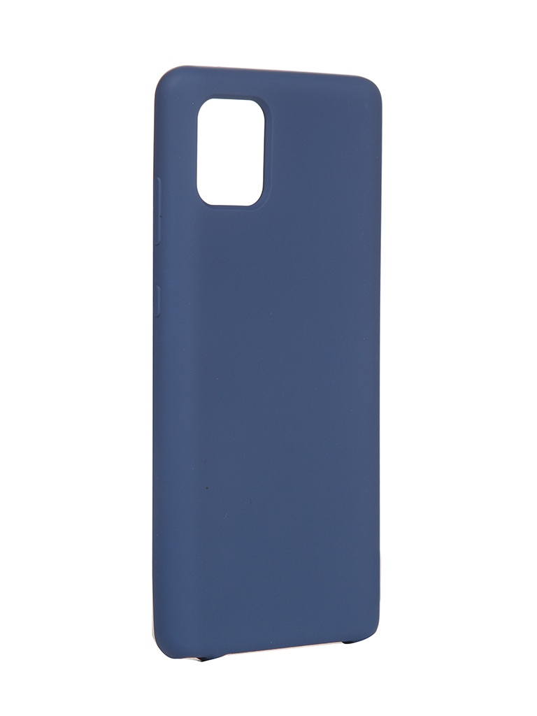 Чехол Innovation для Samsung Galaxy Note 10 Lite/A81/M60S Silicone Cover Blue 16852