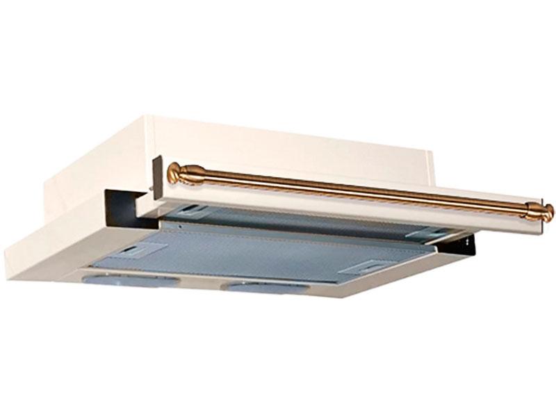 Кухонная вытяжка Elikor Интегра 60 60П-400-В2Л Cream-Bronze