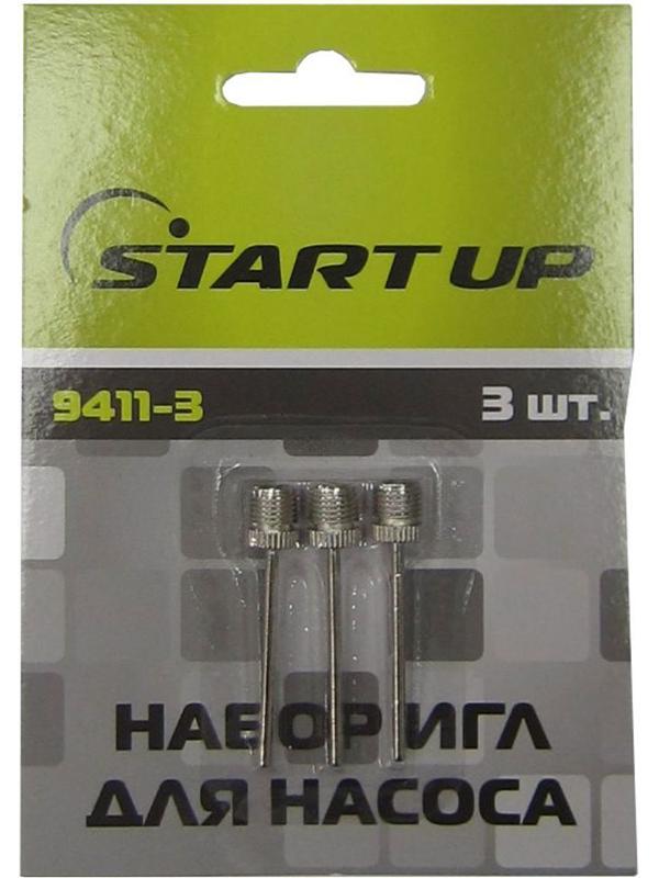 Набор игл для насоса Start Up 9411-3 3шт 328938