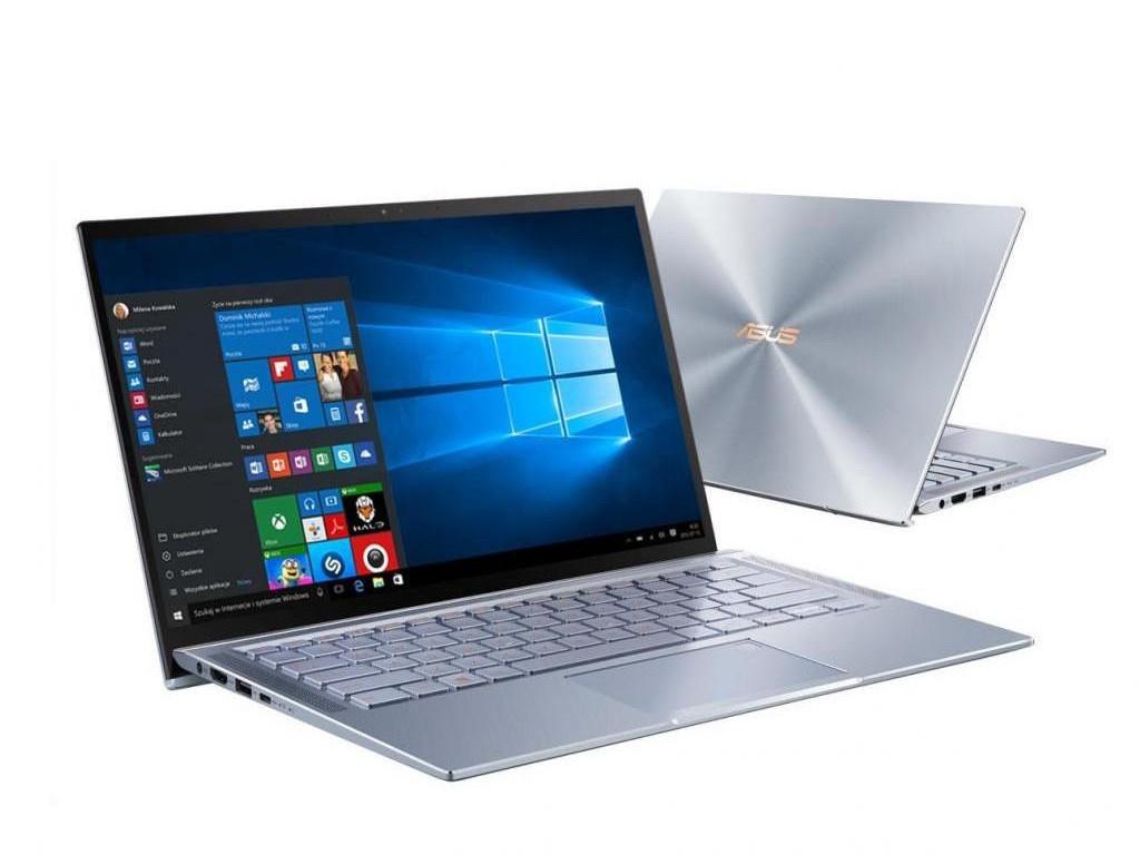 Ноутбук ASUS Zenbook UM431DA-AM010T Blue 90NB0PB3-M01440 (AMD Ryzen 5 3500U 2.1 GHz/8192Mb/256Gb SSD/AMD Radeon Vega 8/Wi-Fi/Bluetooth/Cam/14.0/1920x1080/Windows 10 Home 64-bit) ноутбук asus zenbook um433da a5005t ryzen 5 3500u 8gb ssd512gb amd radeon vega 8 14 fhd 1920x1080 windows 10 silver wifi bt cam