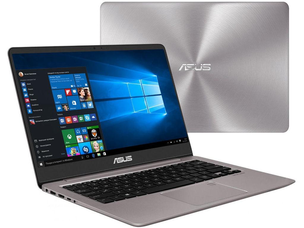 Ноутбук ASUS Zenbook UX410UA-GV537T Grey 90NB0DL1-M14810 (Intel Core i3-8130U 2.2 GHz/4096Mb/128Gb SSD/Intel HD Graphics/Wi-Fi/Bluetooth/Cam/14.0/1920x1080/Windows 10 Home 64-bit)