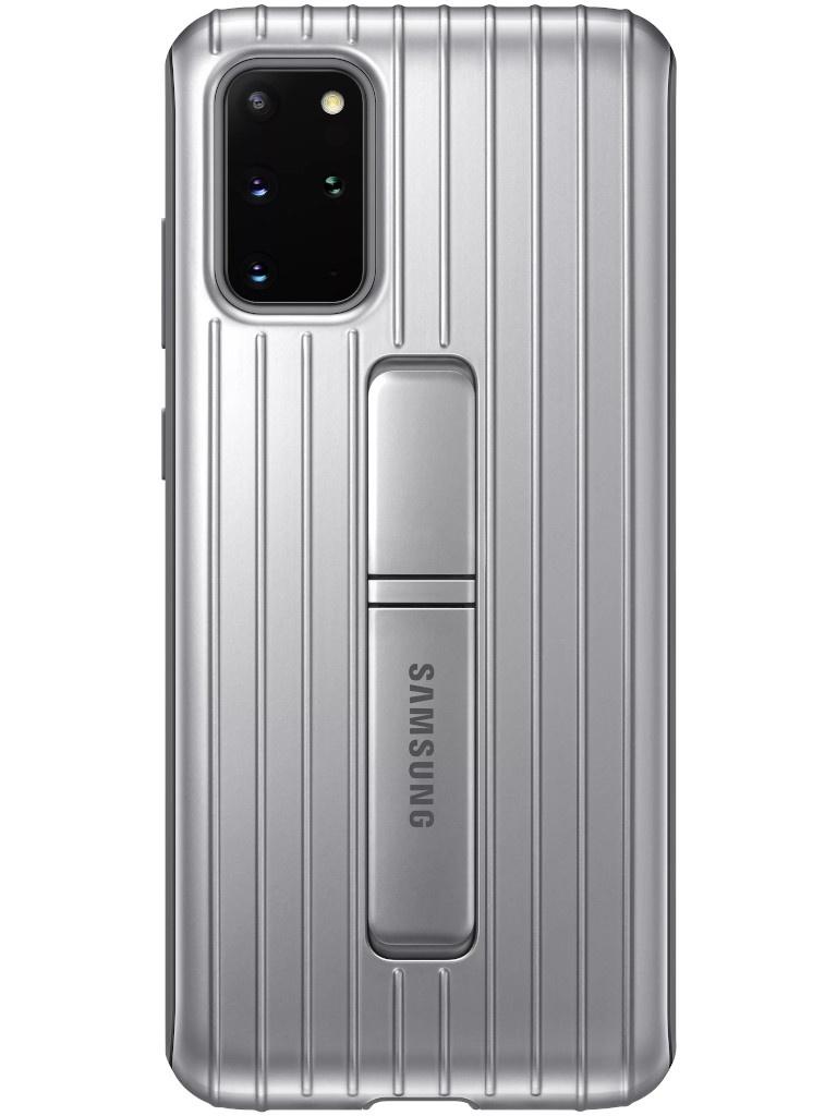 Чехол для Samsung Galaxy S20 Plus Protective Standing Cover Silver EF-RG985CSEGRU