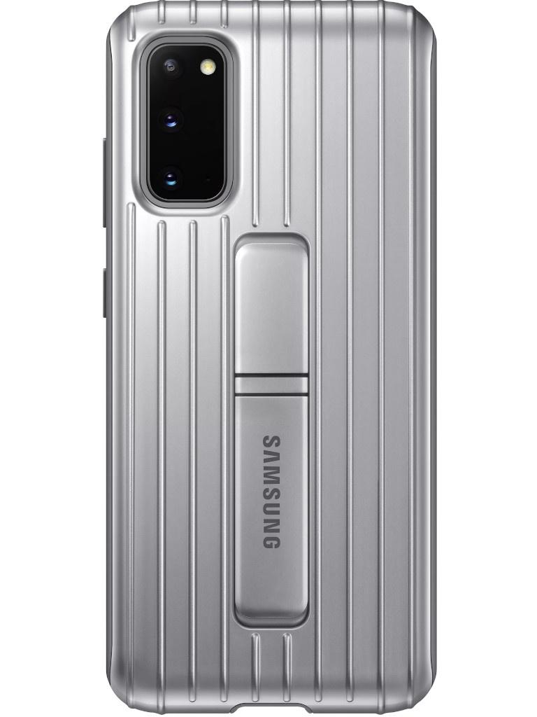 Чехол для Samsung Galaxy S20 Protective Standing Cover Silver EF-RG980CSEGRU
