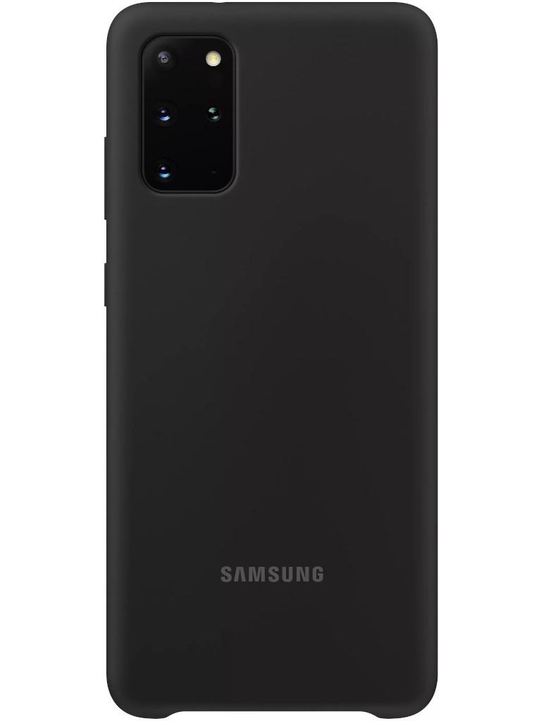 Фото - Чехол для Samsung Galaxy S20 Plus Silicone Cover Black EF-PG985TBEGRU чехол для samsung galaxy s20 plus silicone cover black ef pg985tbegru