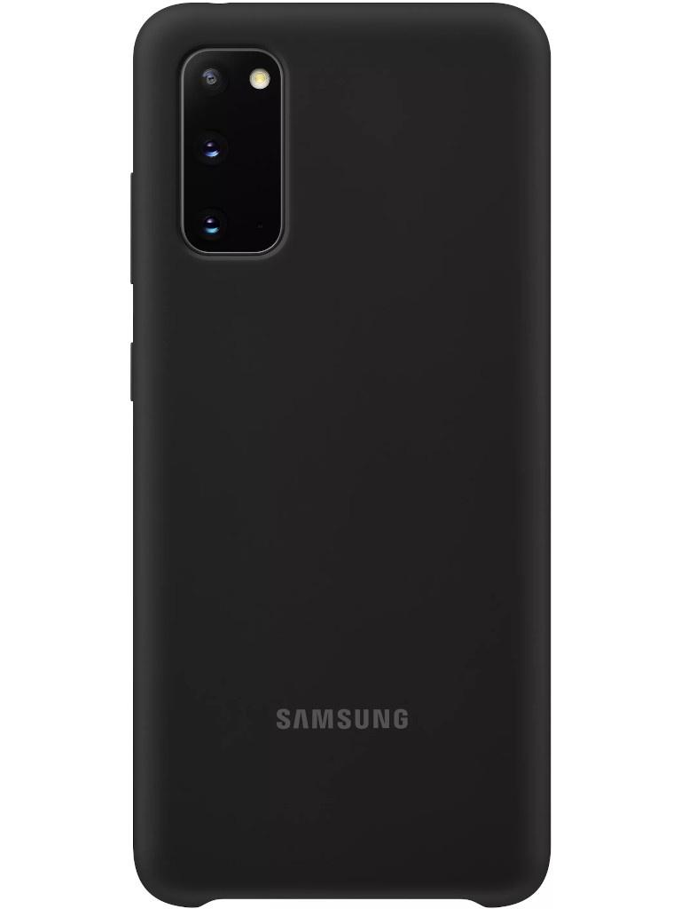 Фото - Чехол для Samsung Galaxy S20 Silicone Cover Blue EF-PG980TBEGRU чехол для samsung galaxy s20 plus silicone cover black ef pg985tbegru