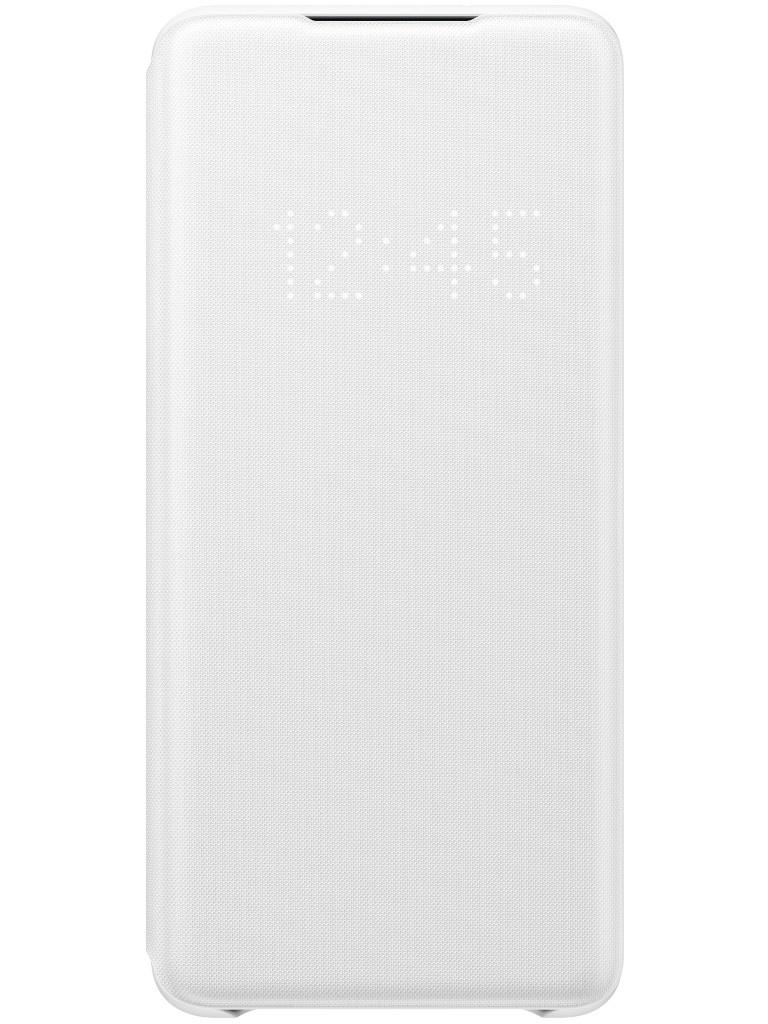 Чехол для Samsung Galaxy S20 Plus Smart LED View Cover White EF-NG985PWEGRU