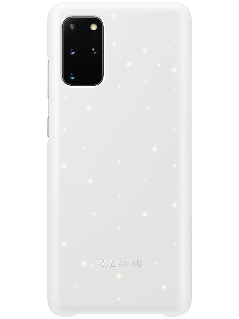 Чехол для Samsung Galaxy S20 Plus Smart LED Cover White EF-KG985CWEGRU аксессуар чехол samsung galaxy note 8 led view cover gold ef nn950pfegru