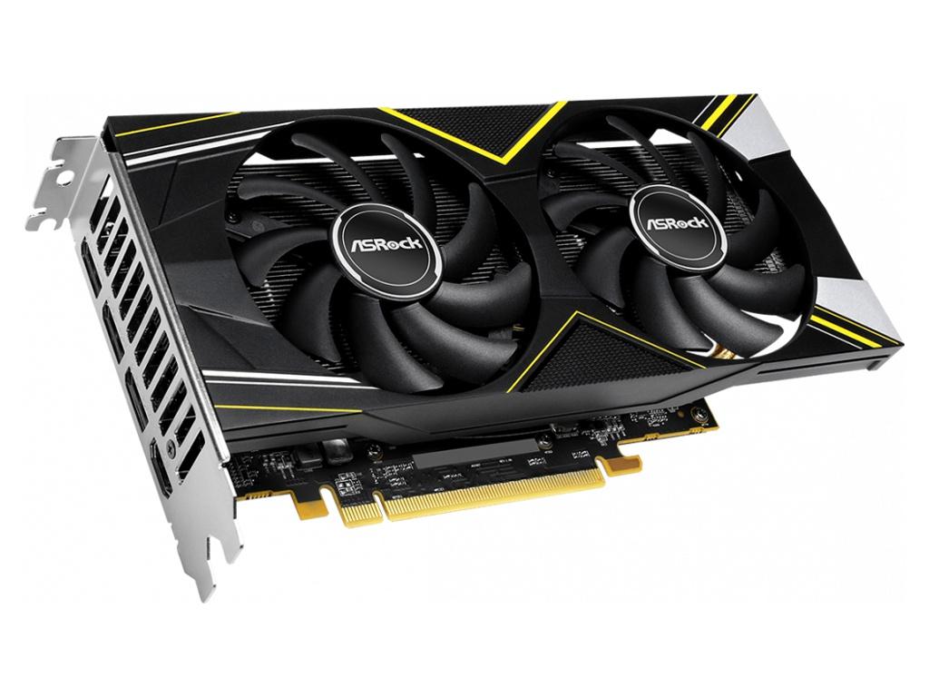 Видеокарта ASRock Radeon RX 5500 XT Challenger D 8G OC 1685Mhz PCI-E 3.0 8192Mb 14000Mhz 128 bit 3xDP HDMI HDCP RX5500XT CLD 8GO