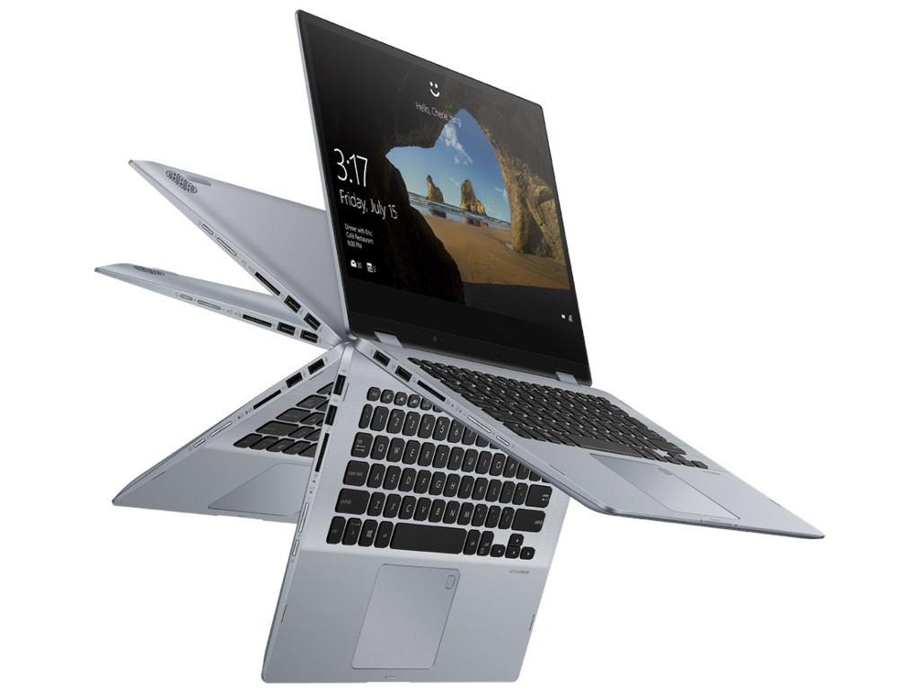 Ноутбук ASUS VivoBook Flip TP412FA-EC260T 90NB0N32-M06100 Выгодный набор + серт. 200Р!!!(Intel Core i3-8145U 2.1 GHz/4096Mb/128Gb SSD/No ODD/Intel HD Graphics/Wi-Fi/Bluetooth/Cam/14.0/1920x1080/Touchscreen/Windows 10 64-bit)