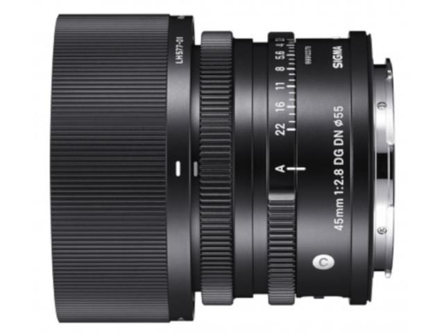 Фото - Объектив Sigma Sony E AF 45mm F/2.8 DG DN / C dg d 764b