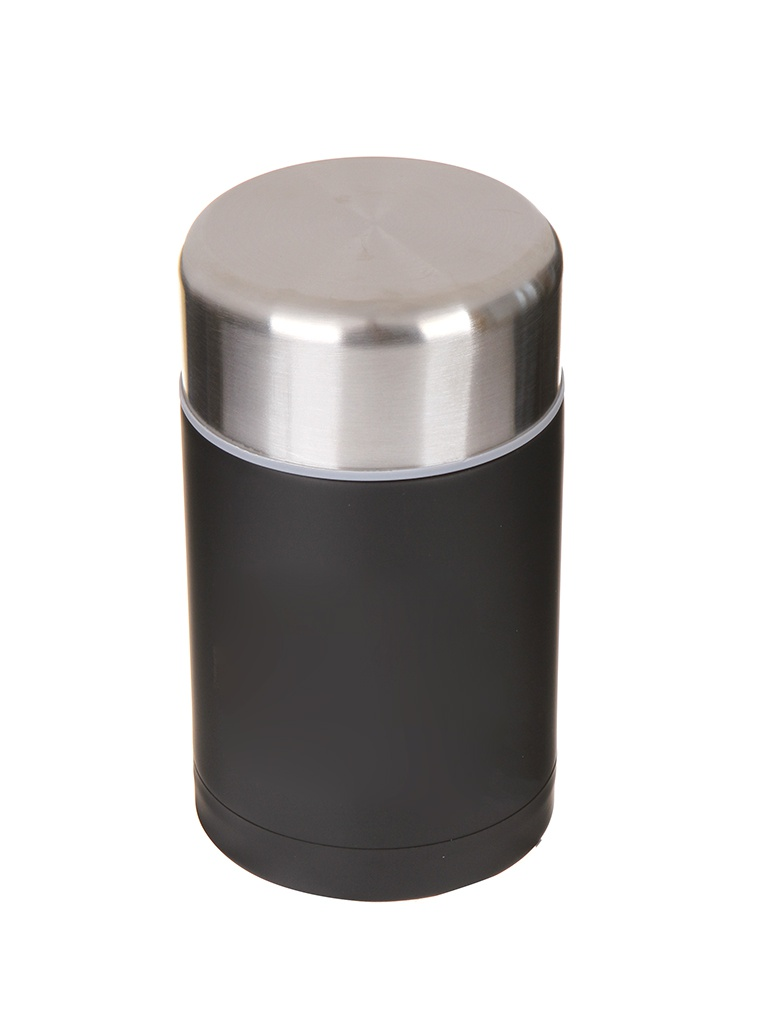 Термос Rondell Picnic 800ml с внутренним контейнером 350ml Black RDS-946