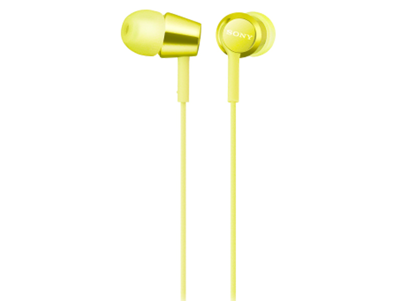 Наушники Sony MDR-EX155Y.E Yellow цена и фото