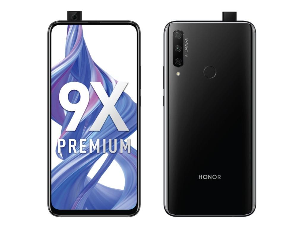 Сотовый телефон Honor 9X Premium 6/128Gb Midnight Black Выгодный набор для Selfie + серт. 200Р!!!