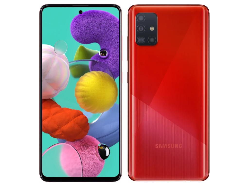 Сотовый телефон Samsung SM-A515F Galaxy A51 4Gb/64Gb Red Выгодный набор + серт. 200Р!!!