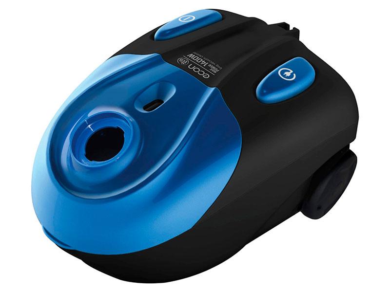 Пылесос Econ ECO-1414VB Blue-Black отпариватель напольный econ eco bi2001s blue