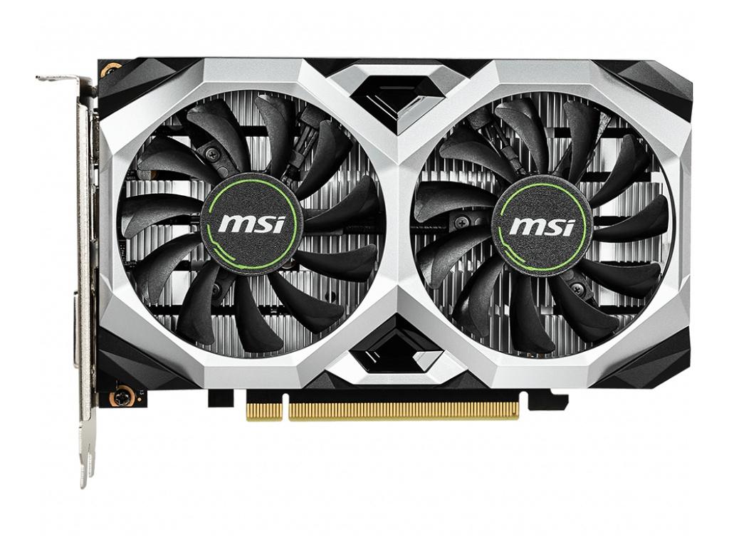 Видеокарта MSI GeForce GTX 1650 VENTUS XS 4G OC 1740Mhz PCI-E 3.0 4096Mb 8000Mhz 128 bit HDMI DVI-D HDCP Выгодный набор + серт. 200Р!!!