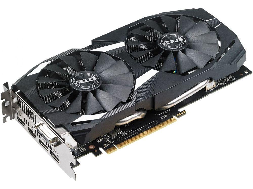 Видеокарта ASUS Radeon RX 580 1360Mhz PCI-E 3.0 8192Mb 8000Mhz 256 bit DVI 2xHDMI HDCP DUAL-RX580-O8G Выгодный набор + серт. 200Р!!!