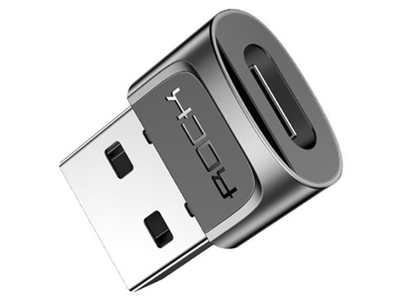 Фото - Аксессуар Rock Type-C to USB AM Black RCB0610 аксессуар