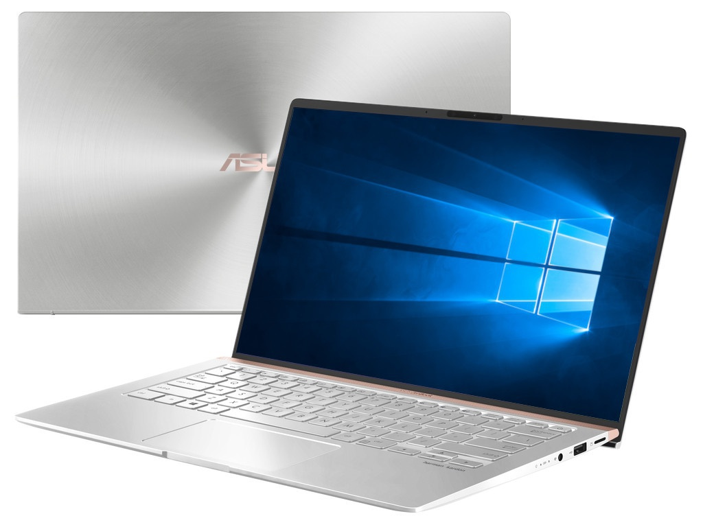Фото - Ноутбук ASUS Zenbook UX433FLC-A5366R Silver 90NB0MP6-M07410 (Intel Core i7-10510U 1.8 GHz/16384Mb/1024Gb SSD/nVidia GeForce MX250 2048Mb/Wi-Fi/Bluetooth/Cam/14.0/1920x1080/Windows 10 Pro 64-bit) ноутбук asus zenbook ux333fn a3110t core i7 8565u 8gb ssd512gb nvidia geforce mx150 2gb 13 3 fhd 1920x1080 windows 10 silver wifi bt cam bag