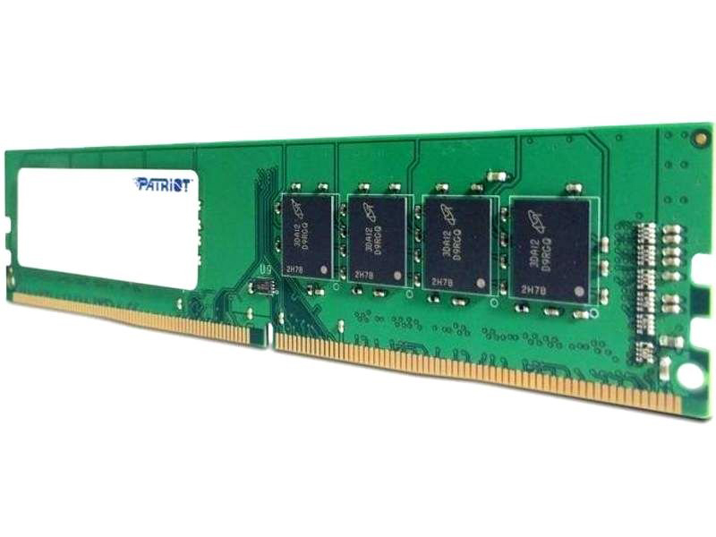 Модуль памяти Patriot Memory DDR4 DIMM 2666Mhz PC4-21300 CL19 - 16Gb PSD416G26662 Retail