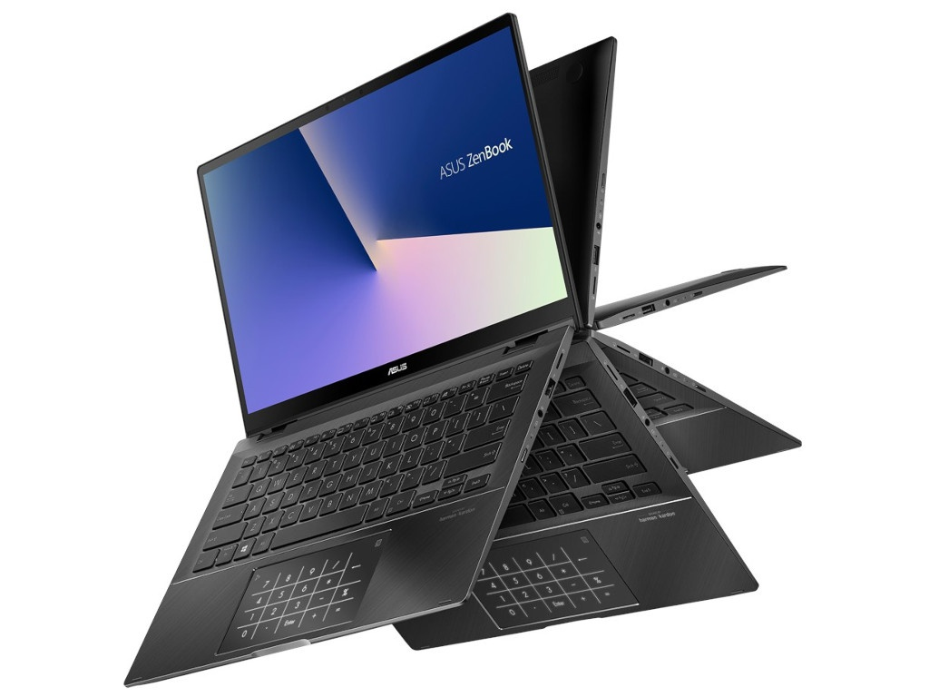 Ноутбук ASUS Zenbook Flip UX463FA-AI013T Grey 90NB0NW1-M01180 (Intel Core i5-10210U 1.6 GHz/8192Mb/512Gb SSD/Intel HD Graphics/Wi-Fi/Bluetooth/Cam/14.0/1920x1080/Touchscreen/Windows 10 Home 64-bit)