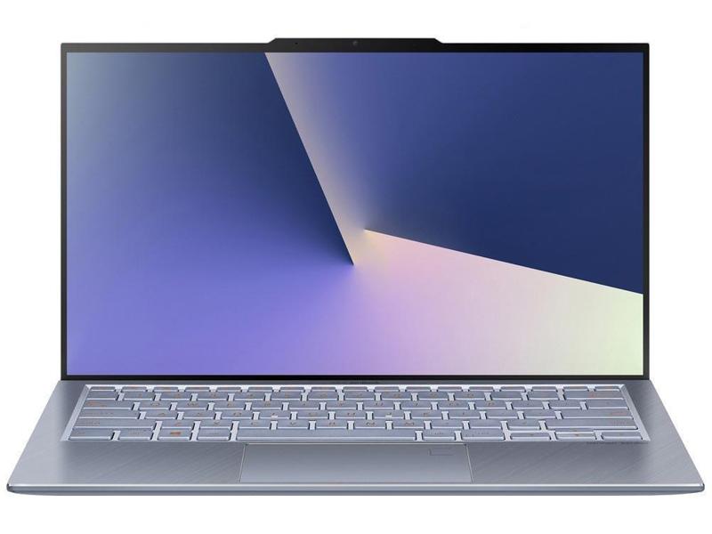 Ноутбук ASUS Zenbook S13 UX392FN-AB006R Light Blue 90NB0KZ1-M01290 (Intel Core i7-8565U 1.8 GHz/16384Mb/512Gb SSD/nVidia GeForce MX150 2048Mb/Wi-Fi/Bluetooth/13.9/1920x1080/Windows 10 Pro 64-bit) ноутбук asus zenbook ux392fn ab006r 13 9 ips intel core i7 8565u 1 8ггц 16гб 512гб ssd nvidia geforce mx150 2048 мб windows 10 professional 90nb0kz1 m01290 голубой