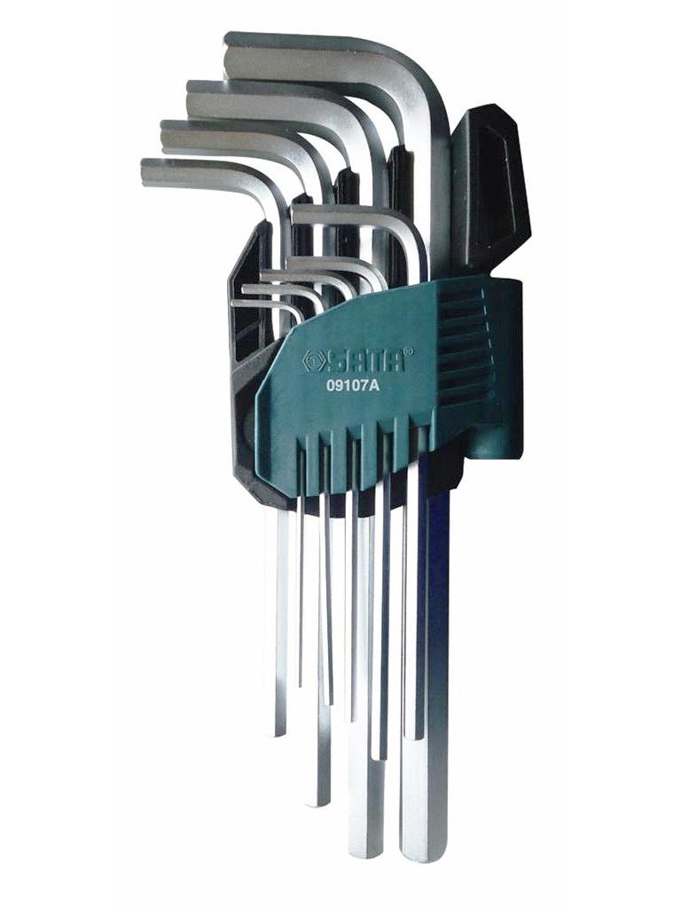 Набор шестигранных ключей Sata 09107A набор ключей sata 11пр 09028