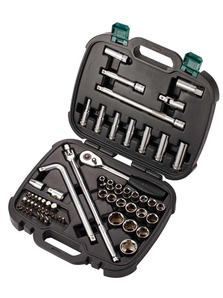 Набор торцевых головок Sata 09097 набор инструмента sata 09510