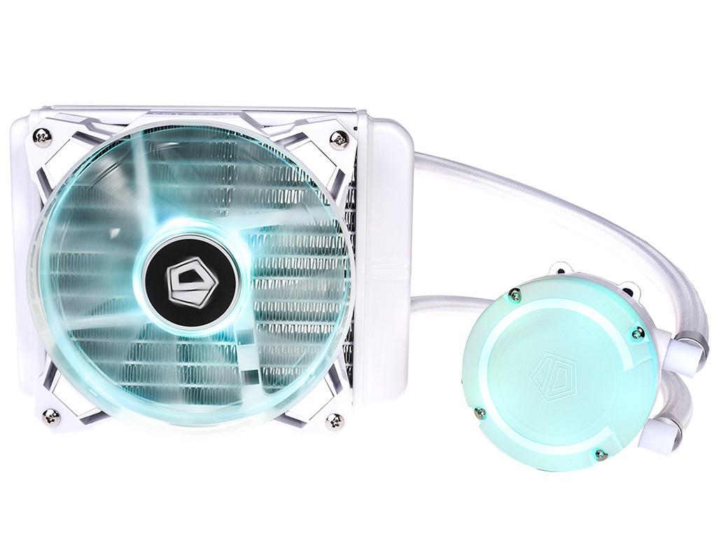 Водяное охлаждение ID-Cooling AuraFlow 120 Snow RGB (Intel LGA2011/2011-3/1150/1151/1155/1156/AMD AM2/AM2+/AM3/AM3+/AM4/FM1/FM2/FM2+)