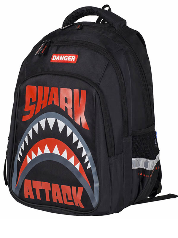 Рюкзак Berlingo Comfort Shark Attack RU05905