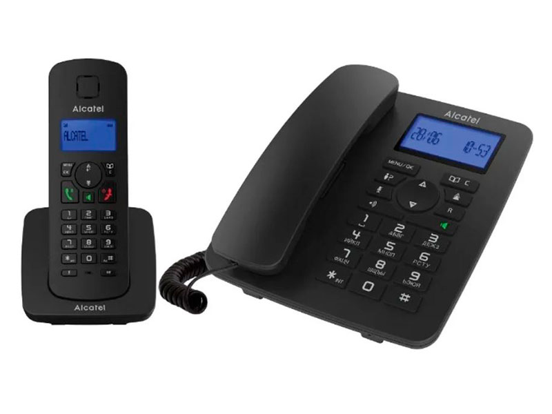Радиотелефон Alcatel M350 Combo Black