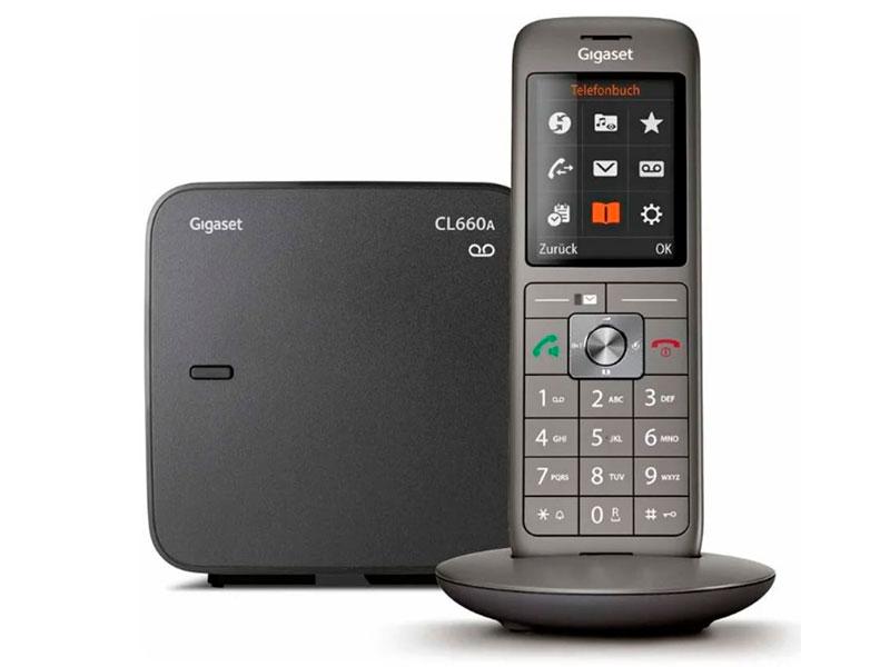 Радиотелефон Gigaset CL660A Black радиотелефон gigaset e630 black