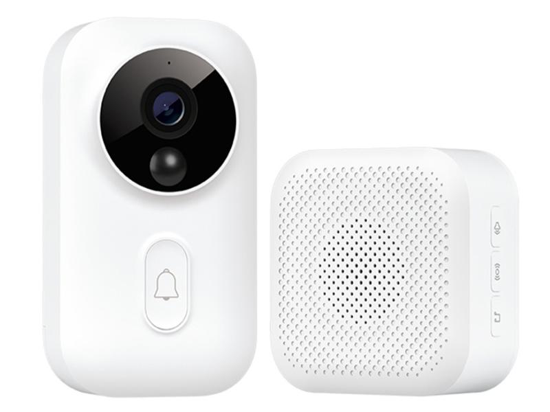 Видеоглазок Xiaomi Zero Smart Video Doorbell MJMLTZ01-FJ