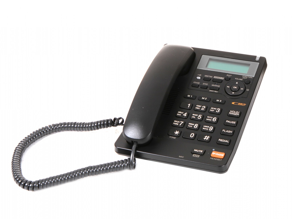 Zakazat.ru: Телефон Panasonic KX-TS2570 Black
