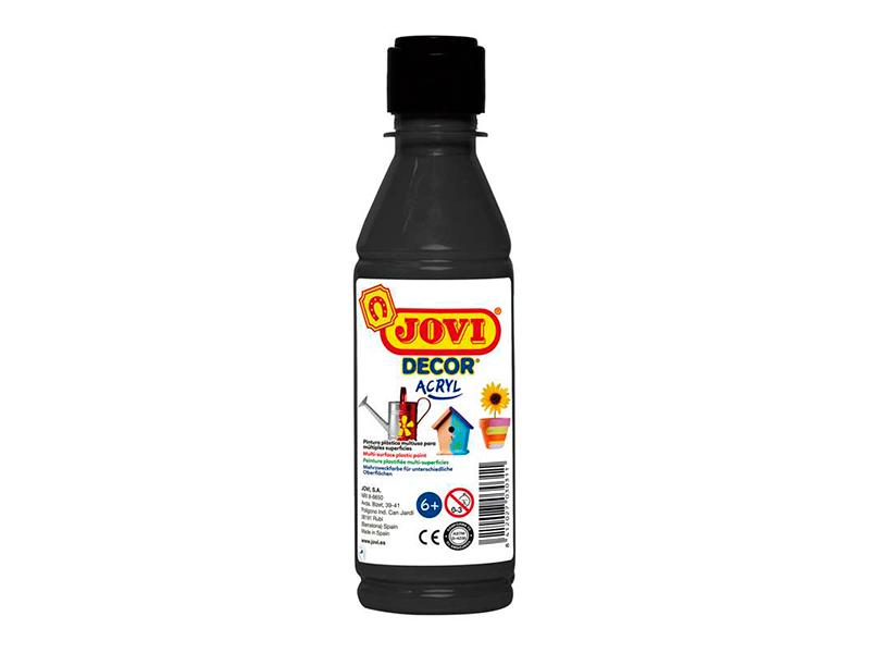 Краска акриловая Jovi 250ml Black 68030
