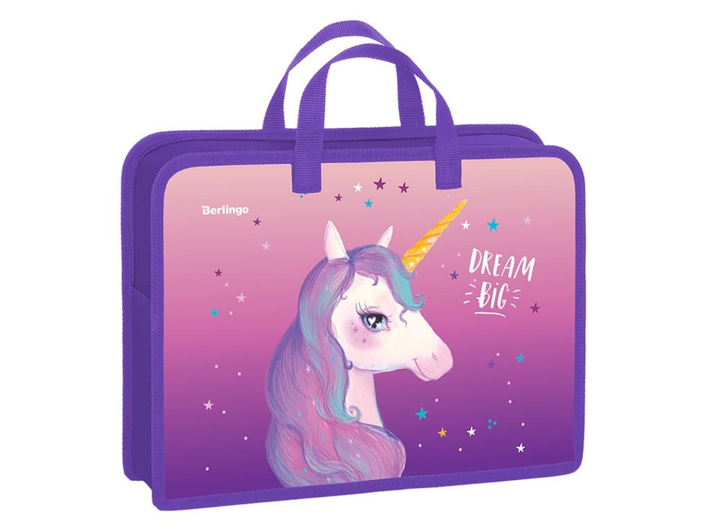 Папка Berlingo Dream Unicorn A4 PT-A4-7510