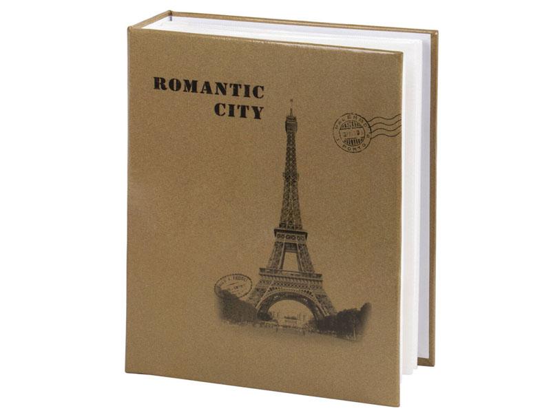 Фото - Фотоальбом Brauberg Париж 10x15cm Beige 391122 florentia фотоальбом кожаный 30х30 50 листов florentia al30637002