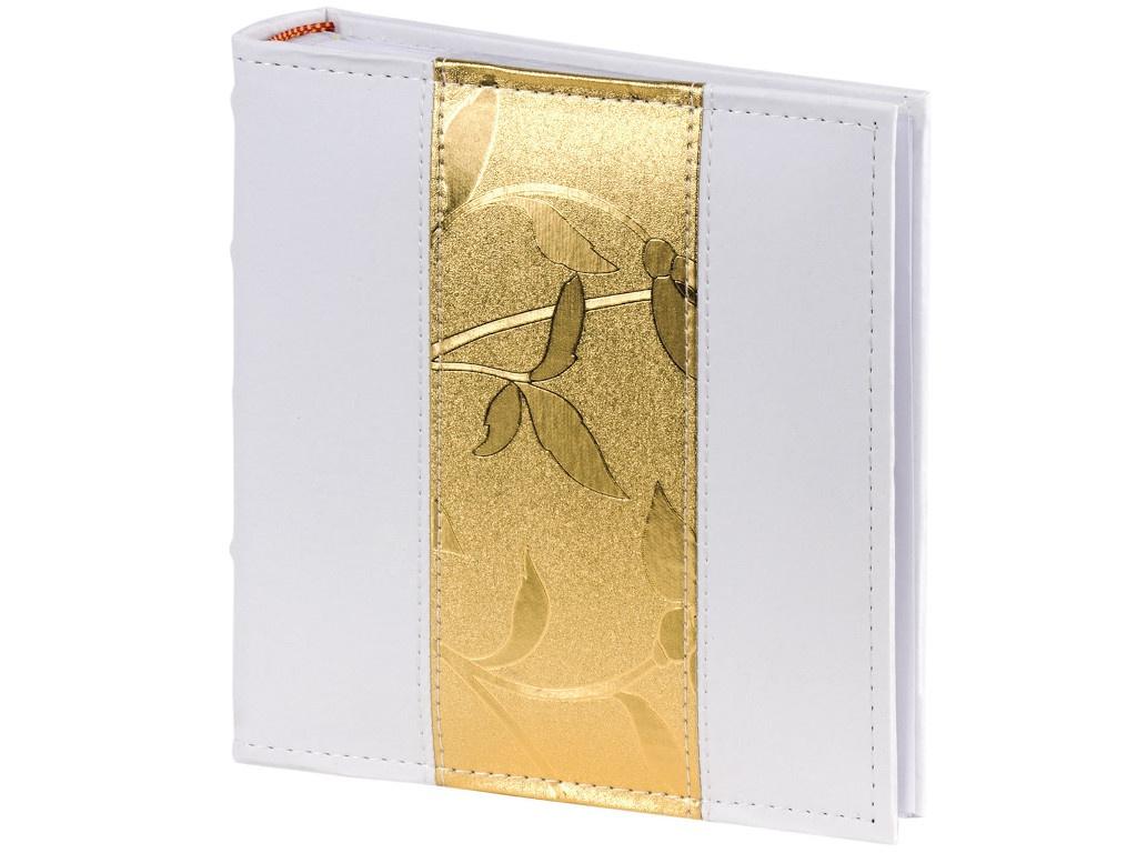 Фотоальбом Brauberg 10x15cm White-Gold 391112