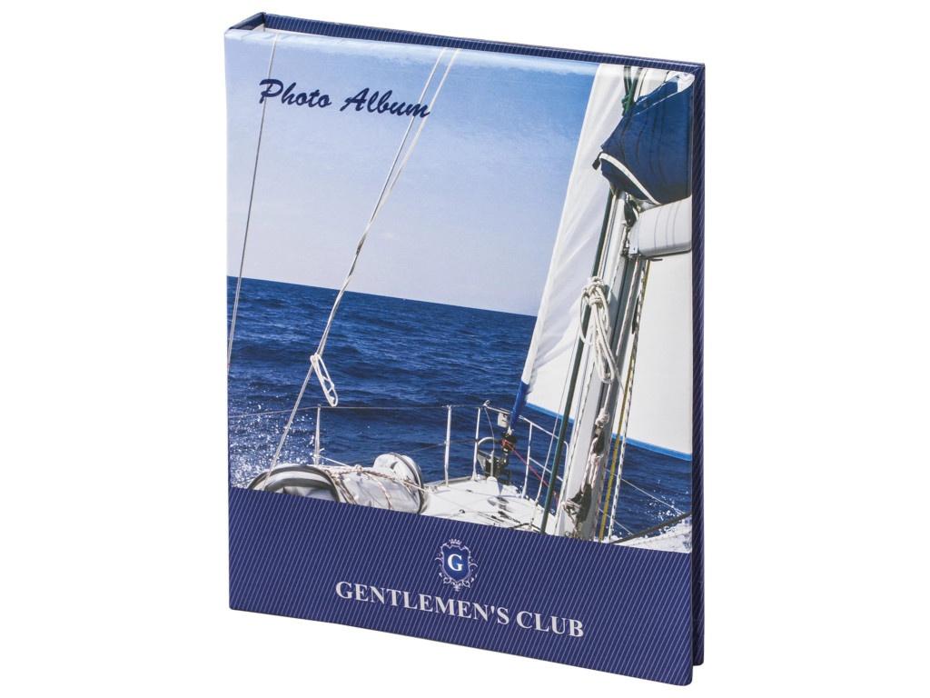 Фотоальбом Brauberg Вид с яхты 10x15cm Blue 390664