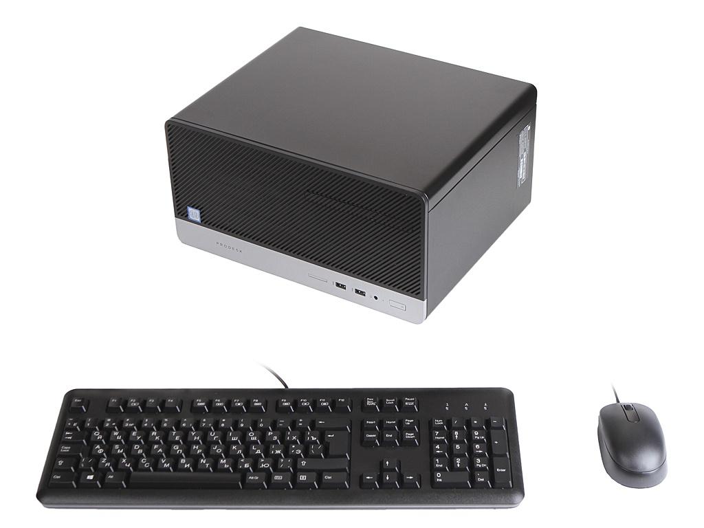 Настольный компьютер HP ProDesk 400 G6 Black 7EL64EA (Intel Core i3-9100 3.6 GHz/4096Mb/1000Gb/DVD-RW/Intel HD Graphics/Windows 10 Pro 64-bit)