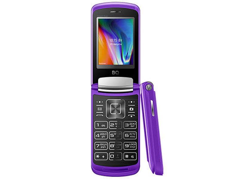 Сотовый телефон BQ 2433 Dream DUO Purple