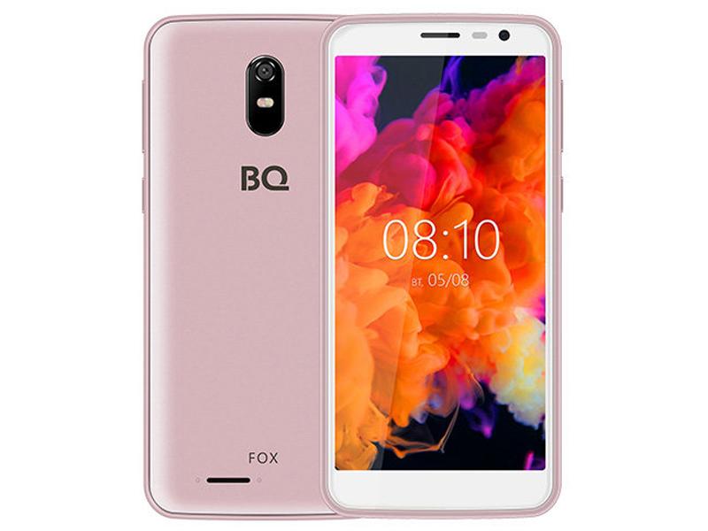 Сотовый телефон BQ 5004G Fox Pink Gold сотовый телефон bq bq 6010g practic gold