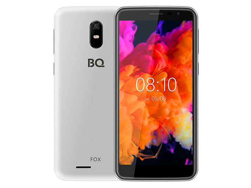 Сотовый телефон BQ 5004G Fox Silver