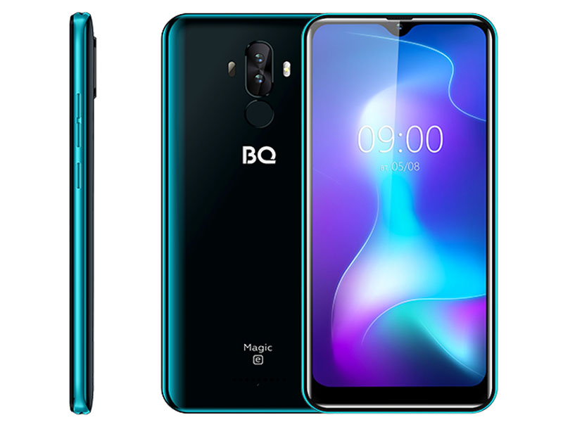 Сотовый телефон BQ 6042L Magic E Deep Blue сотовый телефон bq 5731l magic s deep blue